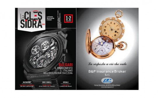Bonsignore & Partners e LaClessidra per gli appassionati di orologi